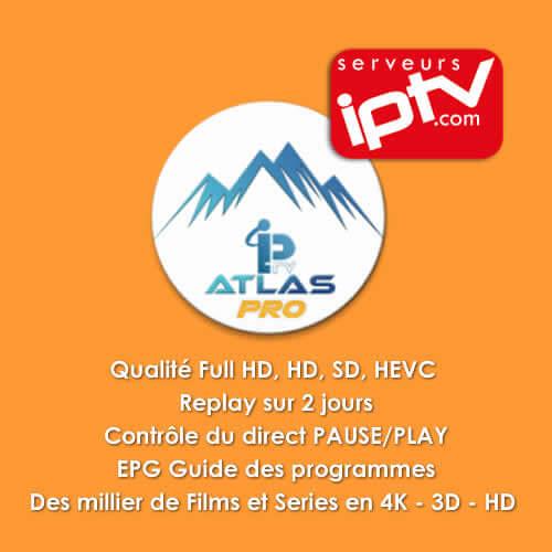 Code ATLAS PRO - Abonnement Atlas pro iptv 12 mois