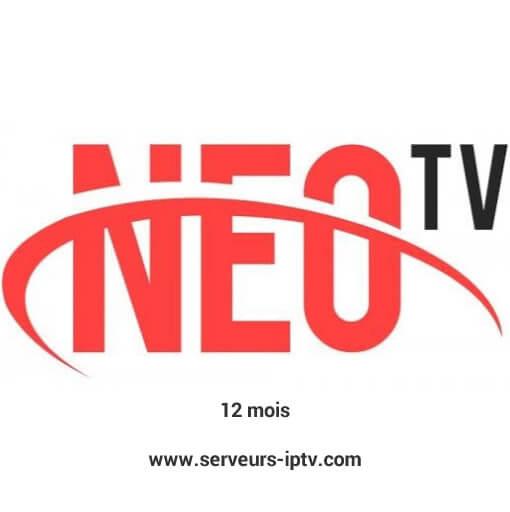 Abonnement neotv plus code de 12 mois
