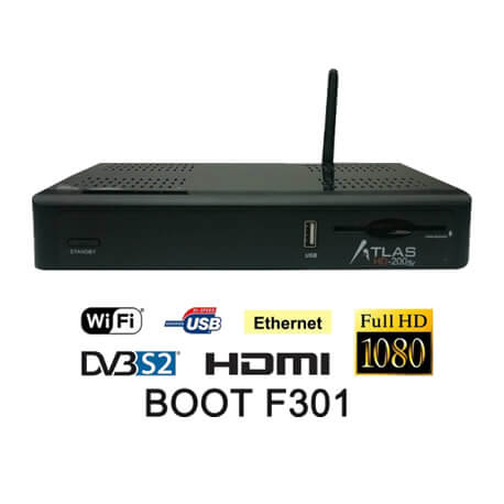 atlas hd 200se boot f301
