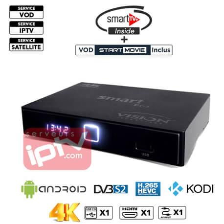 Vision Smart Pro 4K S905D