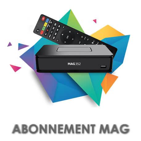 ABONNEMENT MAG iPTV 349/350/351/352/35x