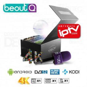 Vision Smart Pro 4K beoutQ H.265