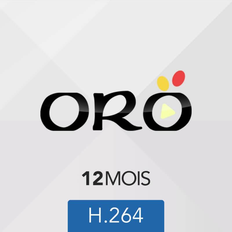 ABONNEMENT ORO IPTV – 12 mois