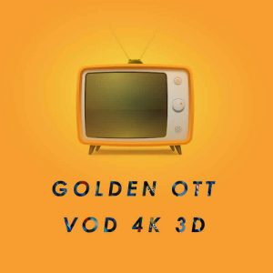 GOLDEN OTT IPTV Abonnement 12 mois