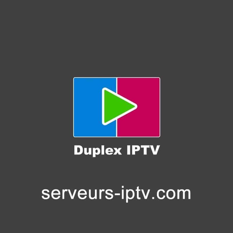 Duplex IPTV Abonnement 12 mois