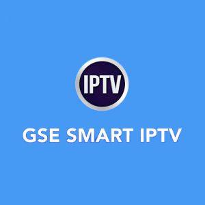 GSE SMART IPTV Abonnement 12 mois